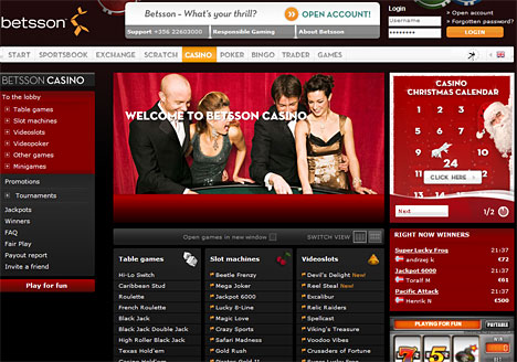 Betsson Casino Online Casino Free Games Without Download And