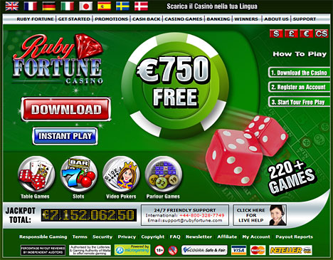 start online casino novolein